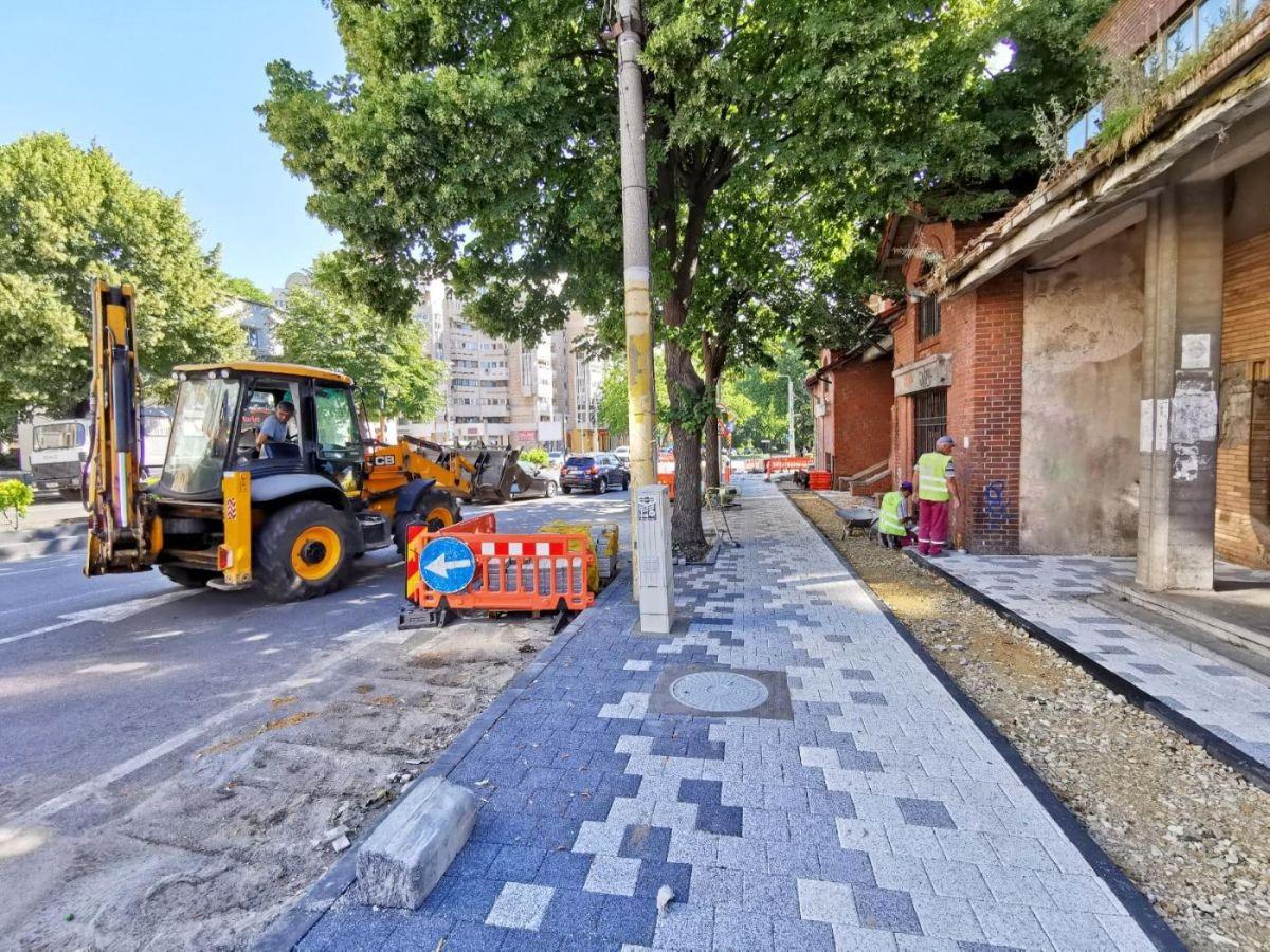 Primăria Municipiului Constanța continuă programul de reabilitare a tramei stradale