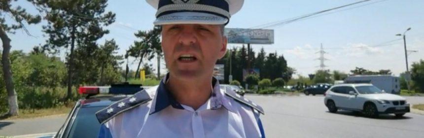 Comisar șef Stoian Constantin, șeful Serviciului Rutier Constanța