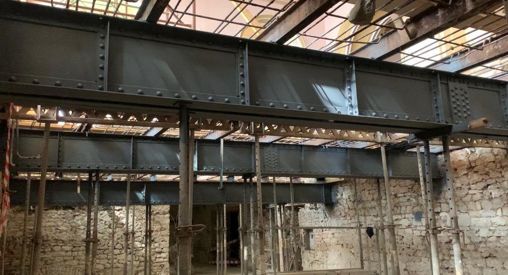 Grinzile lui Anghel Saligny, vechi de 113 ani, vor susține în continuare Cazinoul din Constanța