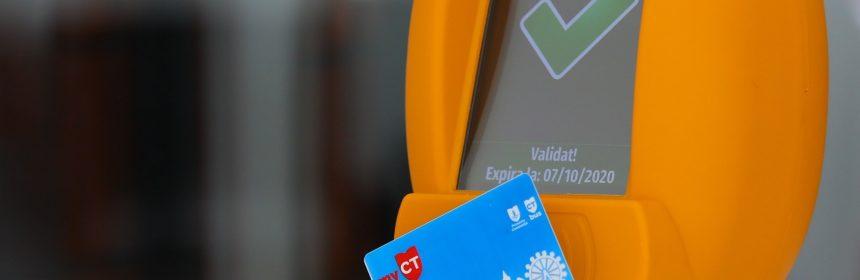 Orice călătorie cu autobuzele CT BUS va putea fi achitată printr-un card contactless