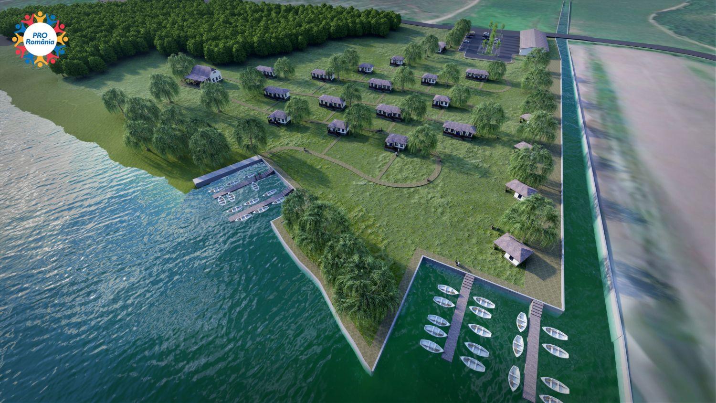 Răzvan Filipescu vrea sate pescărești în localitățile de la Dunăre