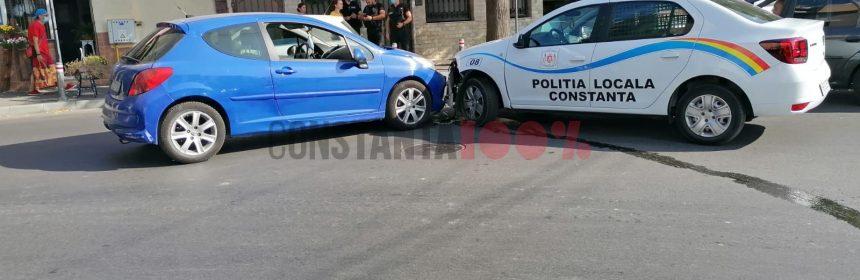 accident-politia-locala constanța
