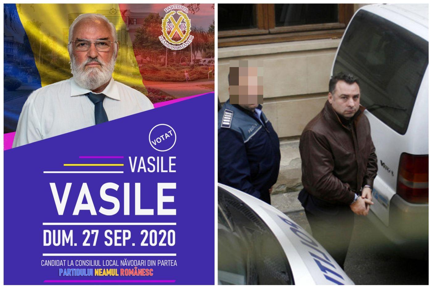"""Vasile Vasile, fost preot, candidat la consiliul Local Năvodari pe lista partidului condus de un fost condamnat penal, Nicolae Matei: """"Am fost oropsiți pe parcursul veacurilor de toate popoarele din jur"""""""
