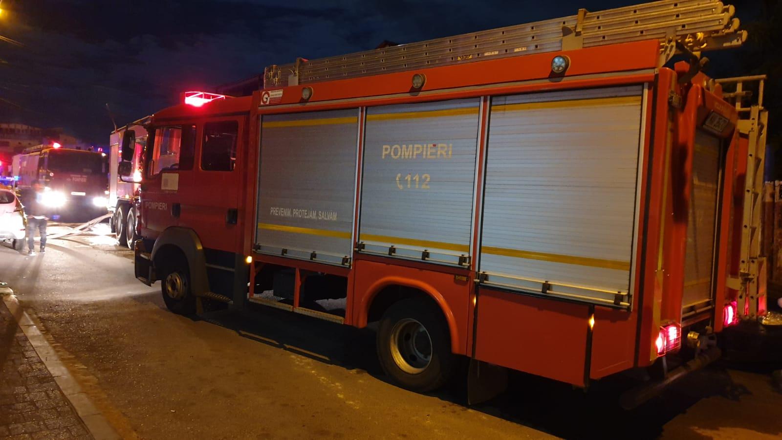 pompieri isu incendiu