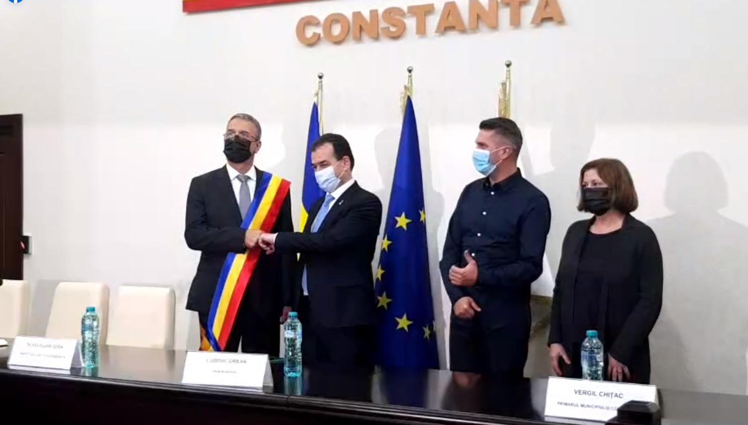 """Ludovic Orban: """"Garantez susținerea noilor administrații ale Constanței"""""""