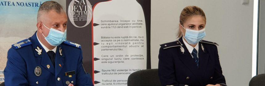 Astăzi, la sediul I.P.J. Constanța, purtătorul de cuvânt al I.P.J. Constanța, subinspector de poliție Andreea Iliescu, împreună cu purtătorul de cuvânt al I.J.J. Constanța, locotenent colonel Răzvan Ivan, au susținut o declarație de presă.