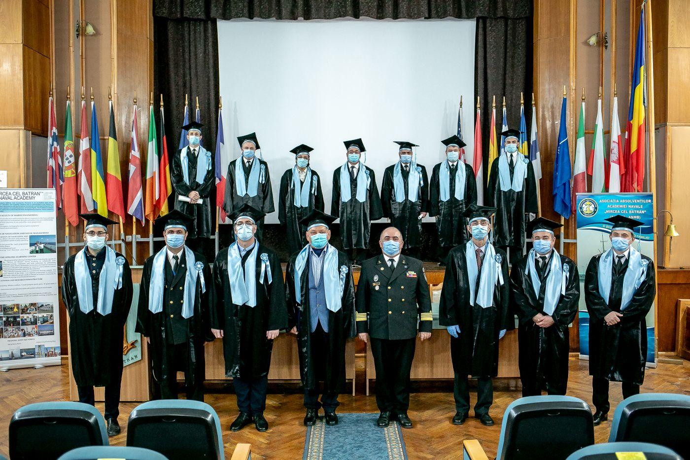 """Academia Navală """"Mircea cel Bătrân"""" a sărbătorit 148 de ani de la înființare"""