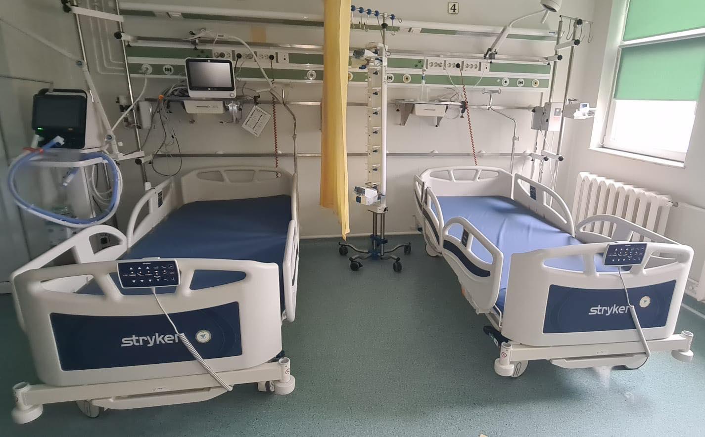 Asociația Dăruiește Aripi a dotat două spitale din județul Constanța cu 10 paturi de terapie intensivă