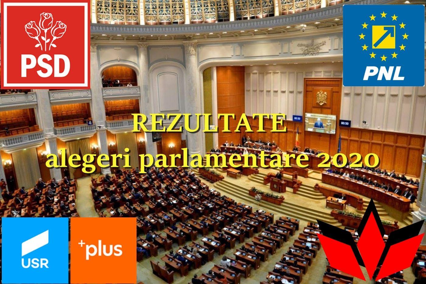 Rezultate alegeri parlamentare 2020