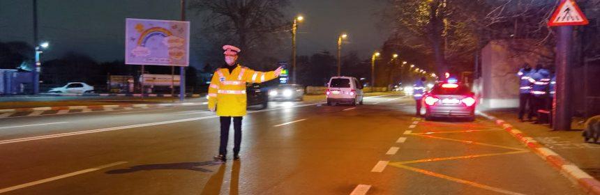 Polițiștii și jandarmii au verificat 2.719 persoane și 2.100 de autovehicule în ultimele 24 de ore