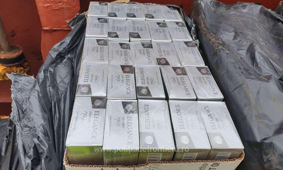 Câinele polițist Pobaza a găsit țigări de contrabandă în valoare de aproape 120.000 de lei la bordul unei nave VIDEO