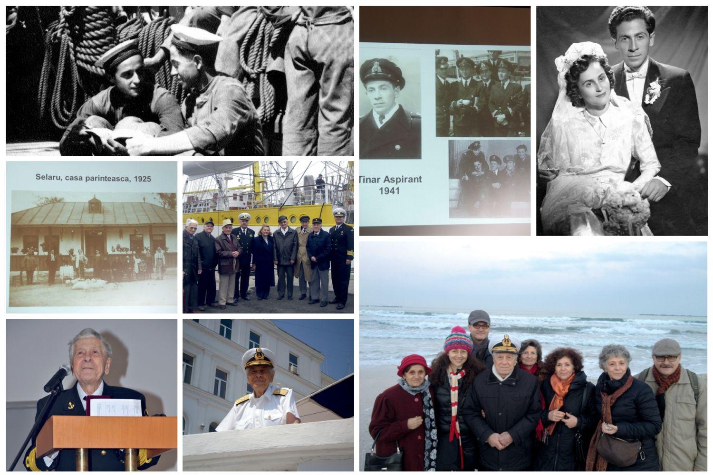 Contraamiralul Mircea Caragea, decanul de vârstă al marinarilor militari, împlinește 102 ani
