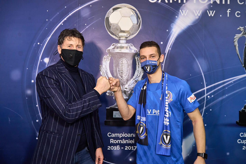 FC Viitorul Constanța a ajuns la un acord cu jucătorul David Babunski, care a semnat un contract valabil pentru următorii 2 ani și 6 luni.