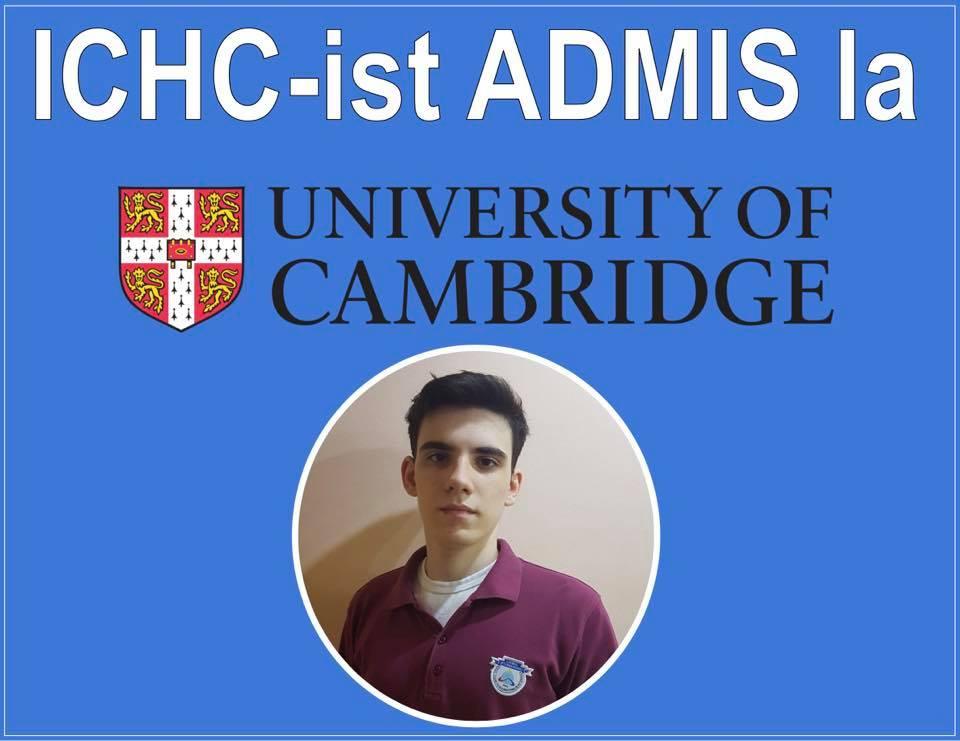 Un elev al Liceului Internațional de Informatică din Constanța a fost admis la Universitatea Cambridge