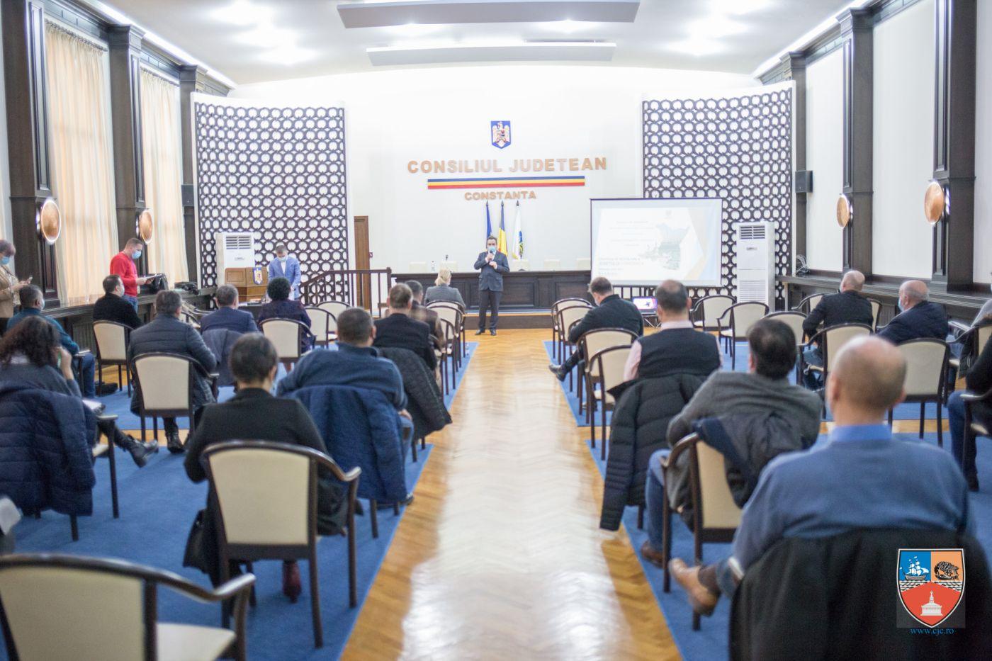 Președintele Consiliului Județean Constanța a stabilit o strategie de dezvoltate împreună cu primarii