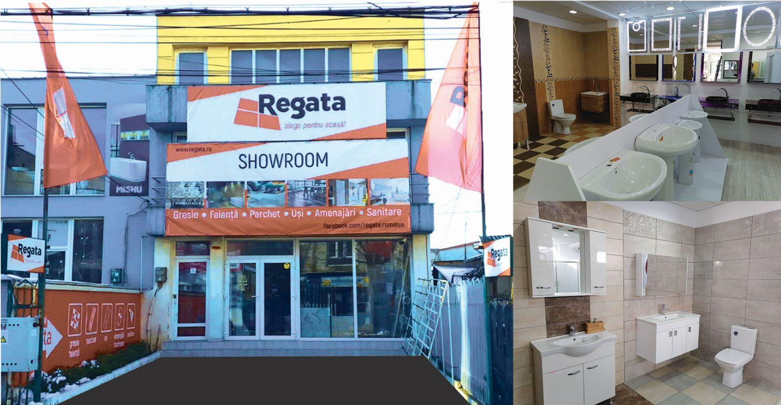 Regata inaugurează luni, 8 februarie, primul showroom din Constanța!