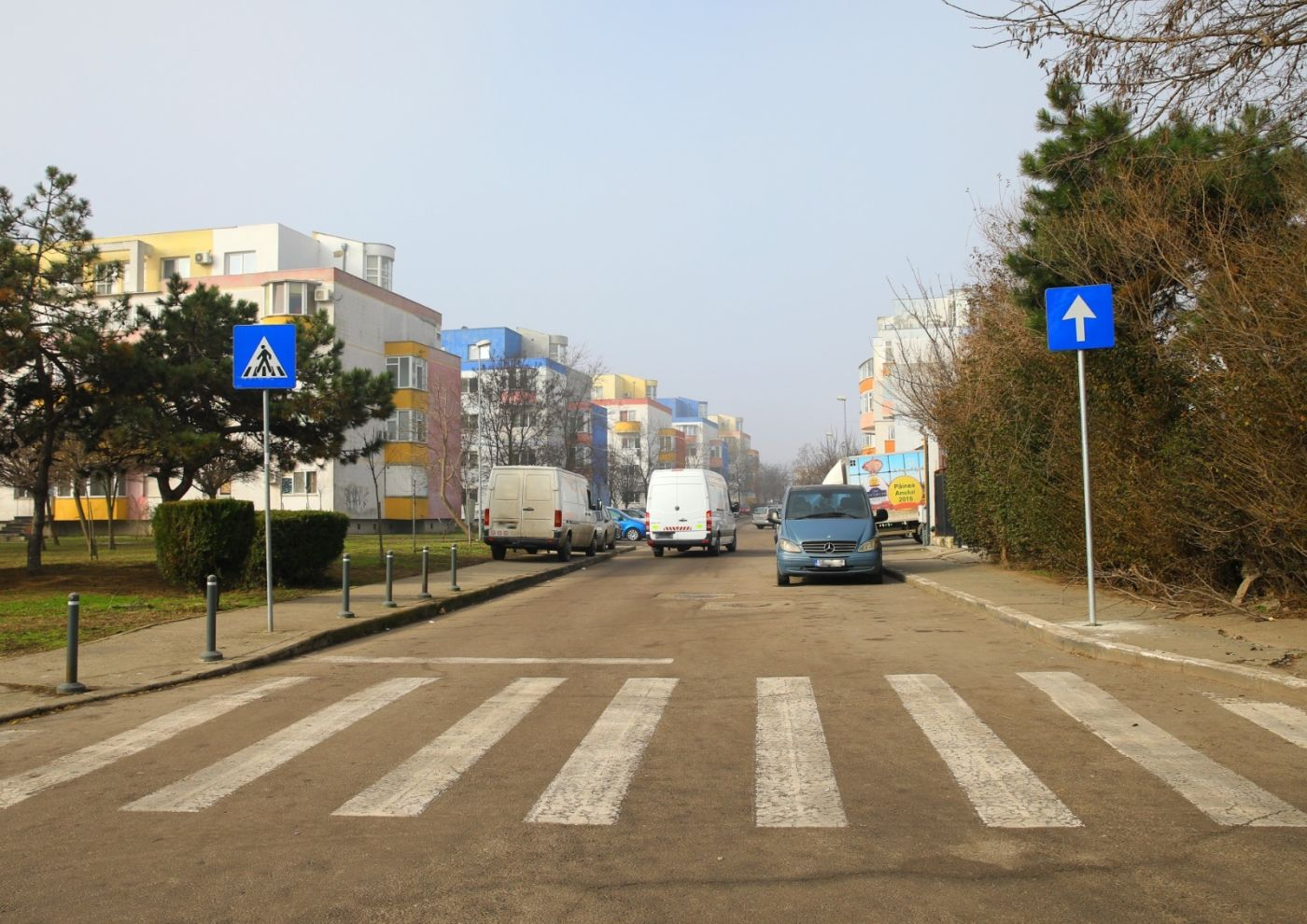 O nouă stradă cu sens unic în orașul Constanța