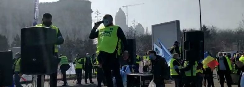 vasile zelca protest