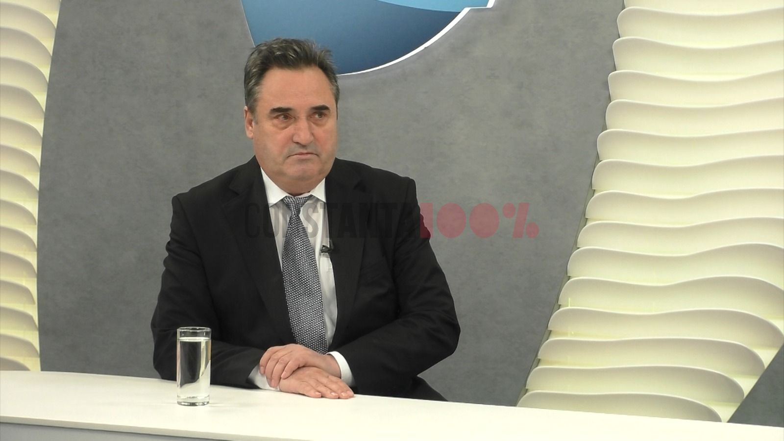 Mihai Lupu, președintele CJC, în platoul Dobrogea TV