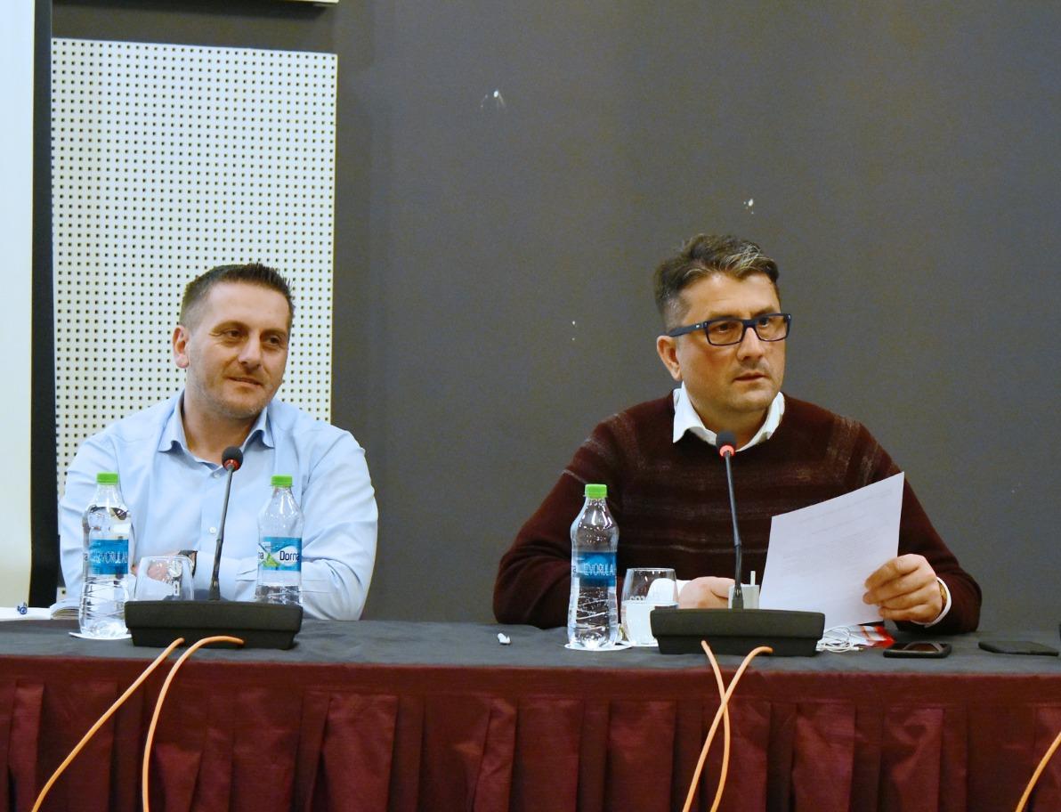 Dumitru Babu și Decebal Făgădău, ex-viceprimar, respectiv ex-primar al municipiului Constanța