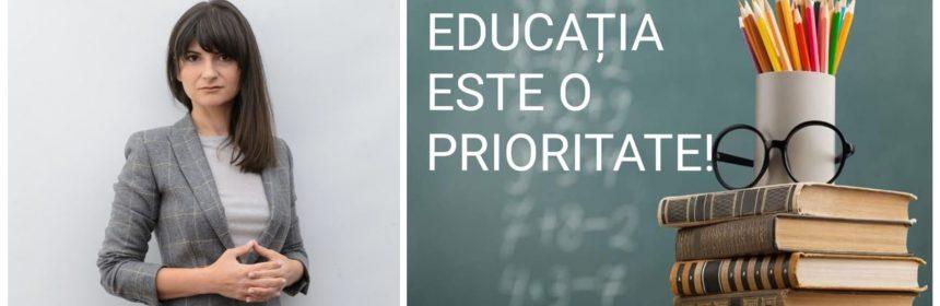"""Cristina Dumitrache, PSD: """"Este momentul să adunăm cioburile și să începem reconstrucția educației naționale"""""""