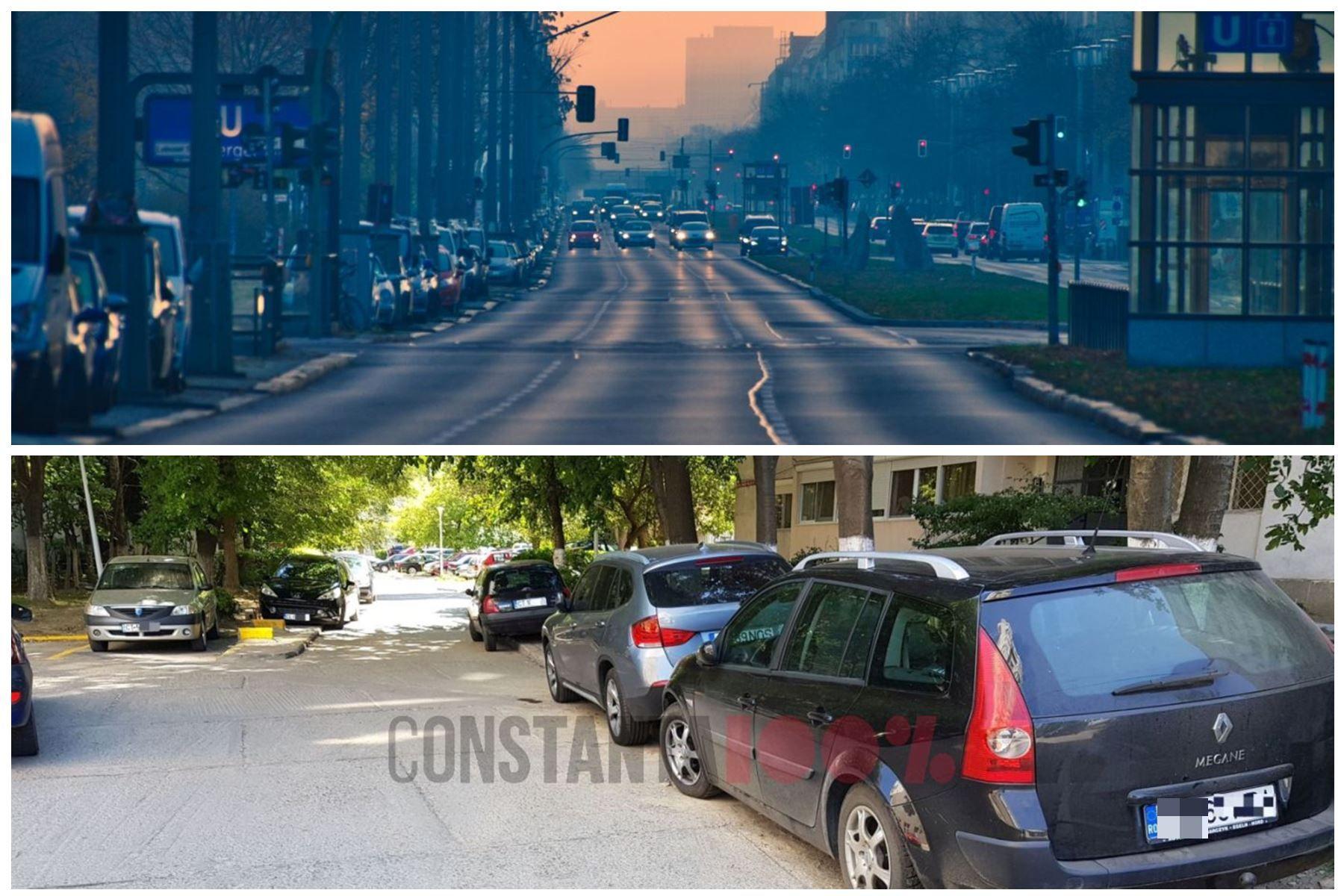 Berlin (foto sus) versus Constanța