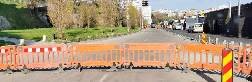 asfaltare strada lebedei