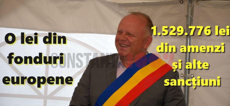Cristian Maricel Cîrjaliu, PSD, primarul comunei Agigea, este ctitorul bugetului