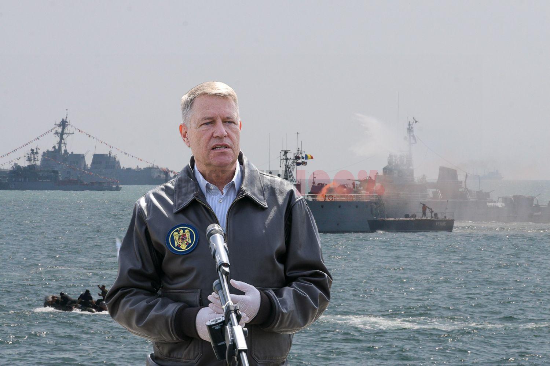 Klaus Iohannis: Situația zona Mării Negre este îngrijorătoare