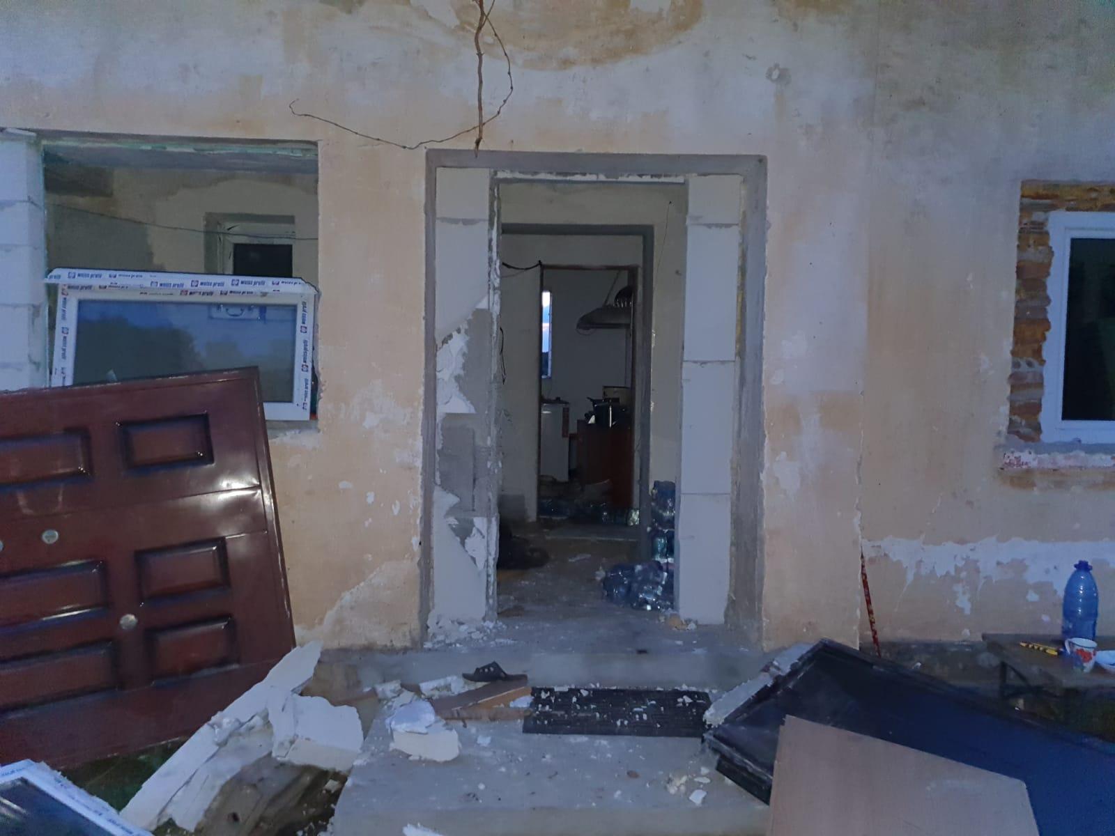 FOTO Explozie la anexa unei mănăstiri din județul Constanța