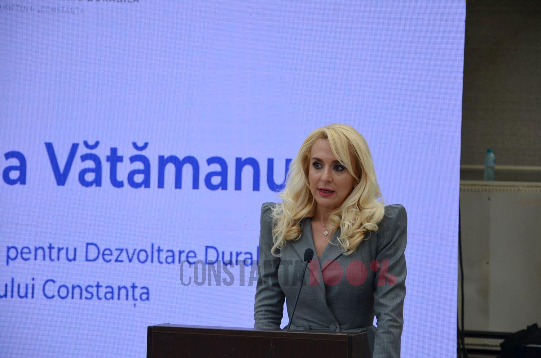 Președintele ADD Constanța, Ana-Maria Vătămanu.