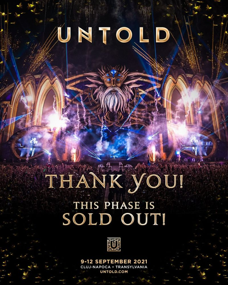 UNTOLD SOLD OUT