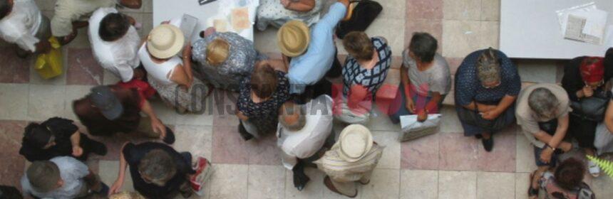 Coadă în sediul Casei Județene de Pensii Constanța