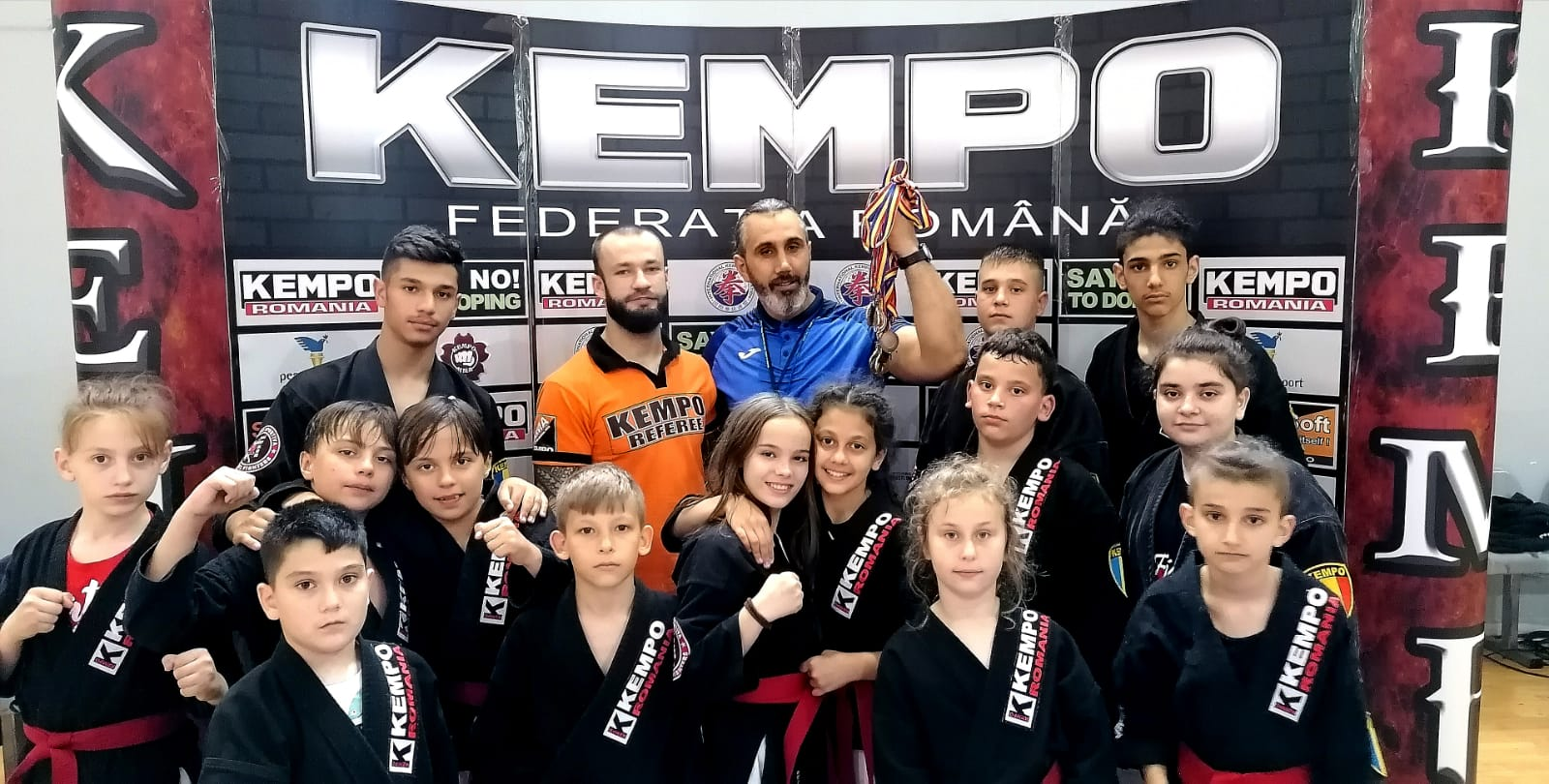 CS Medgidia, 13 medalii la Campionatul Național de Kempo Grappling