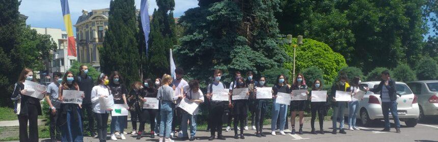 protest elevi constanta