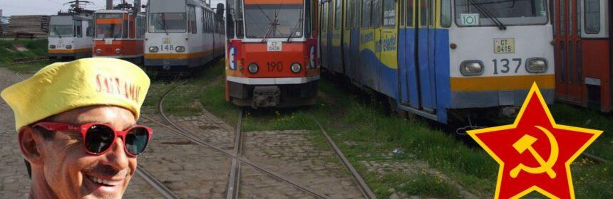 În Constanța, tramvaiele au fost desființate prima dată de Armata Roșie, a doua oară de Radu Mazăre