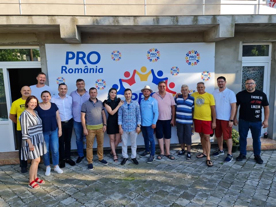 Alegeri în Pro România Lumina