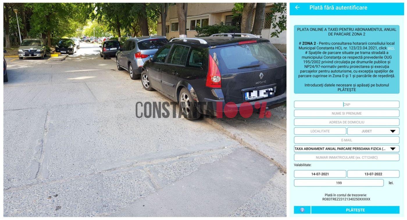 plata-parcare-zona-2-constanta