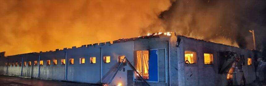 incendiu cladire