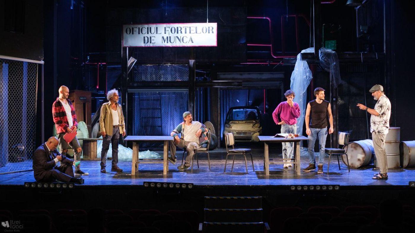 GOI PUȘCĂ, după filmul THE FULL MONTY, deschide stagiunea Teatrului de Stat Constanța